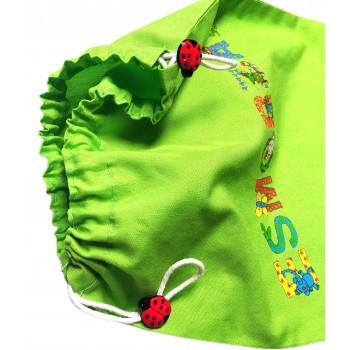 LadyBug Shaped Button - 5 Colors