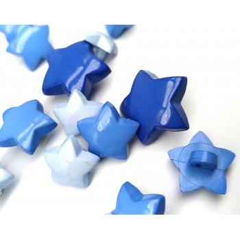 Blue Stars (3 sizes)