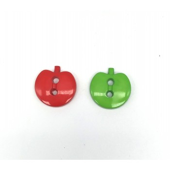 Apples Red & Green with Holes