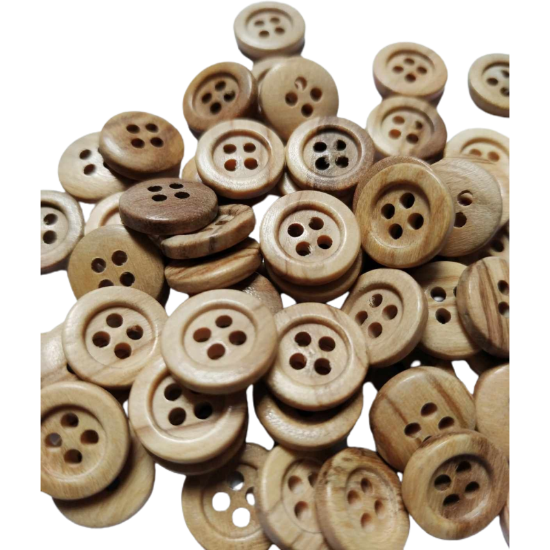Wood Button MD 1000
